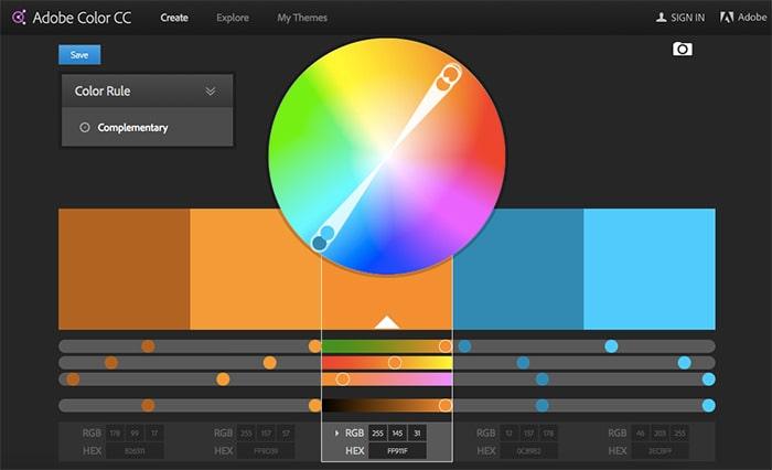 Dónde consigo Adobe Color