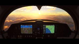 Microsoft Flight Simulator las mejores vistas