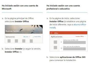 Descarga Office en la página oficial, te darán apoyo si lo necesitas al momento de instalarlo.