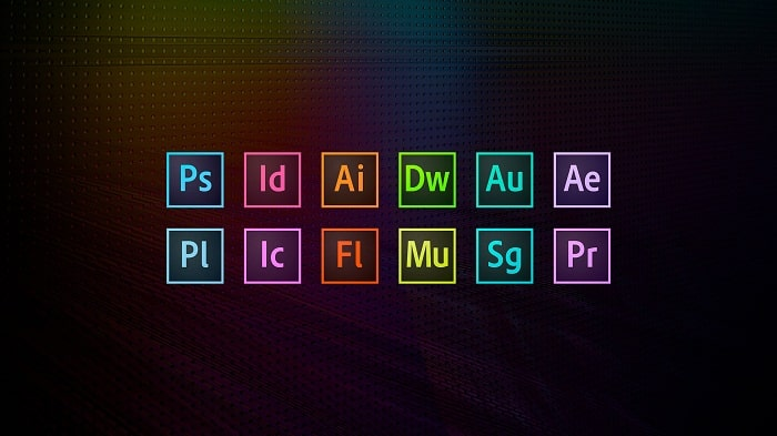 Qué programas hay en Adobe Creative Cloud
