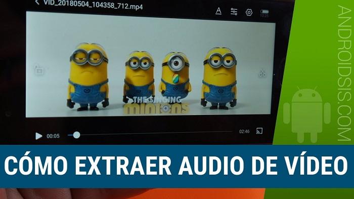 ¿Cómo extraer audio de video de forma rápida?