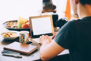 Trabajar desde casa como redactor